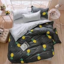 Amazing One Bedsheet Set Mixed Cotton With Design (AZMYB3S)