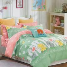 Amazing One Bedsheet Set 100% Cotton With Design (AZMY2)