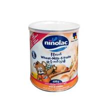NINOLAC Wheat-Milk-5 fruits Tin ( 400g )