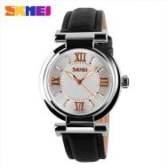 SKMEI Waterproof Quartz Leather Band Women's Watch (Model: 9075)