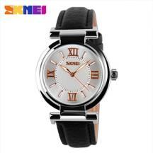 SKMEI Waterproof Quartz Leather Band Women's Watch (Model: 9075)