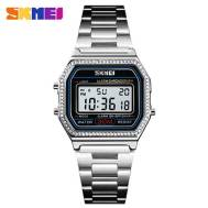 SKMEI Luminous Multi-function  Waterproof Rhinestones Digital Women's Watch (Model: 1474)