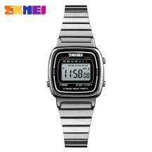 SKMEI Dual Time LED Light Waterproof Digital Women's Watch (Model: 1252)