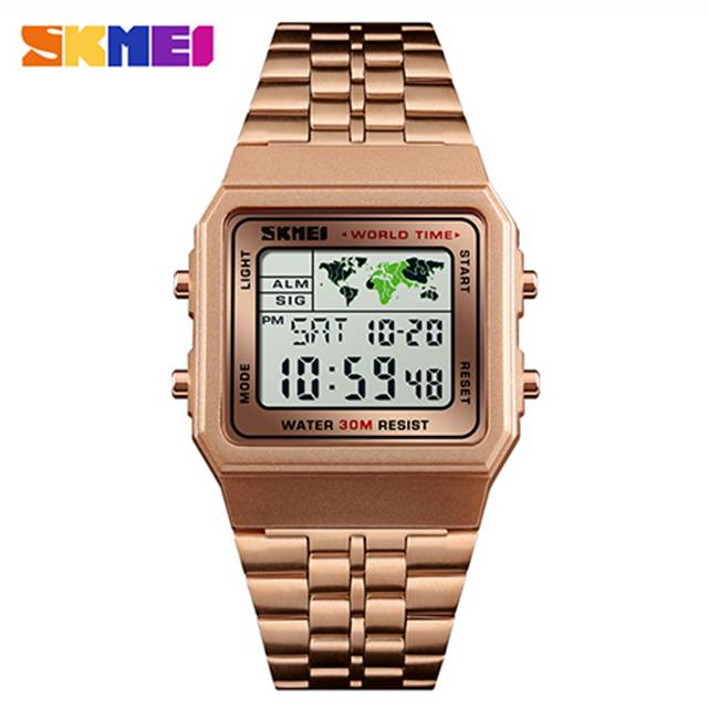SKMEI Multi-functional EL Luminous Depth Waterproof Digital Sport Men's Watch (Model: 1338)