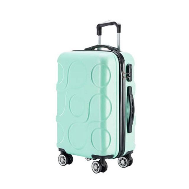 "20"" Inch ABS Bubble Print Universal Wheel Password Lock Trolley Luggage (Model: TSC888)"