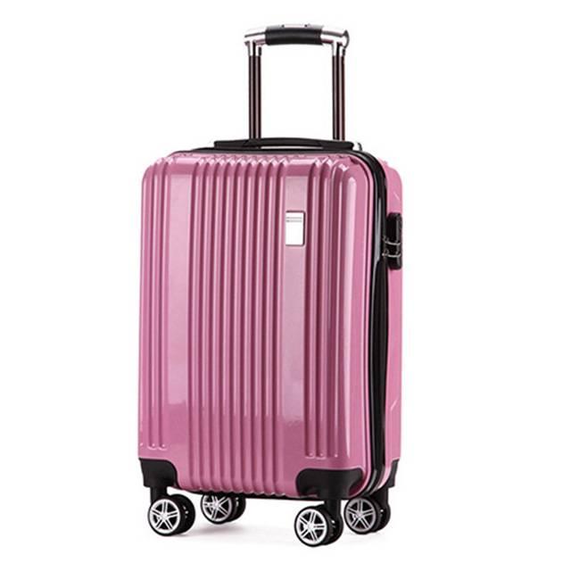 20 Inch ABS+ PC Silent Wheel TSA Password Lock Travel Trolley Luggage (Model: YD20)