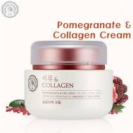 The Face Shop Pomegranate and Collagen Cream (100ml) (FSS-15C)