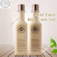 The Face Shop Clean Face Mild Set : Lotion 130ml + Toner 130ml (FSS-04S2)