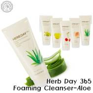The Face Shop Herb Day 365 Cleansing Foaming Cleanser Aloe (170ml) (FSS-17A)