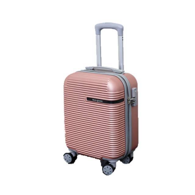 "GIOARMY 20"" Inch ABS + PC Password Lock Zipper Travel Luggage (Model: ABS9025-RW)"