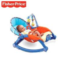 Fisher Price® Newborn-To-Toddler Portable Rocker (Model: P0107)
