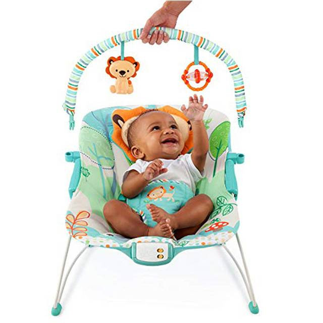 BRIGHT STARTS Playful Pals Bouncer (Model: 60139)