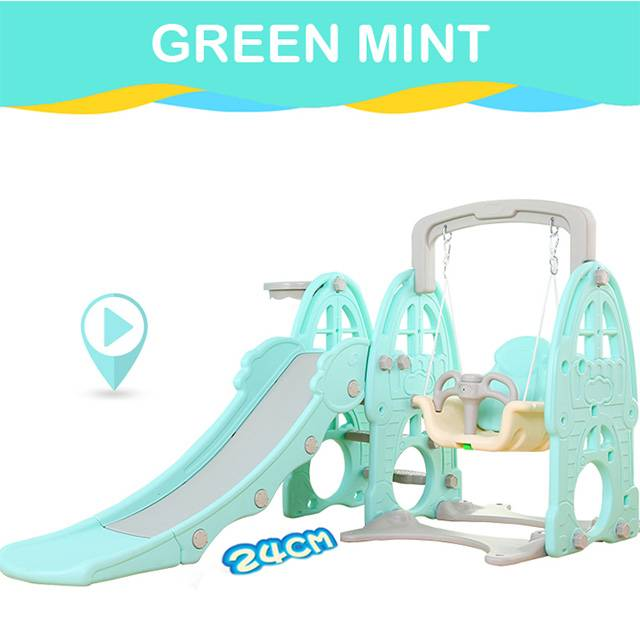BEIXINQI Children's indoor small multi-functional 3-IN-1 baby slide swing combination toy (Model:XLY09)
