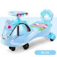 Peppa Pig Ride On Push Along Music Lighting Car Toy 1-3 YRS Children Vehicle (Model:PP6166)