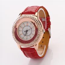 GOGOEY Pave Rhinestones Floating Beads Quartz Movement Women's Watch (Model: XR371)