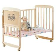 Multi-function Foldable 3 in 1 Baby Cradle Bunk Bed Set (Model:NBPY209)