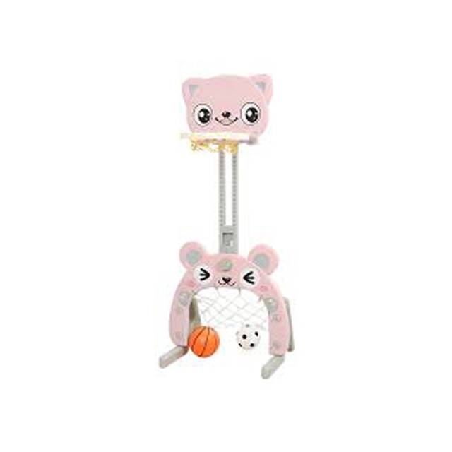 Children's Basketball Raise Indoor Boys and Girls Baby Toys 1-6 Home Ball Shooting Stand (Model:LQJ005)