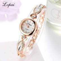 LVPAI Crystal Analog Quartz Movement Women's Bracelet Dress Watch (Model: P122)