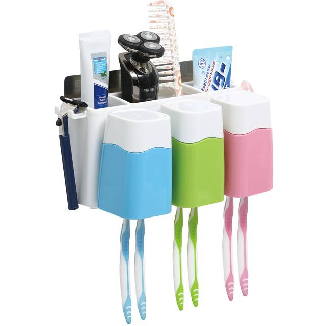 528 Glue Sticker Toothbrush Combination Holder (TBH - 5078)