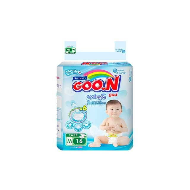 GOO.N Regular Pack Thai Tape Msize (16pcs)
