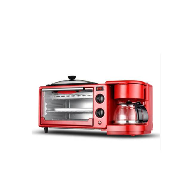 Automatic 3-in-1 Multi-function 9L Electric Breakfast Machine Baking Coffee Toaster (Model:XD9L)