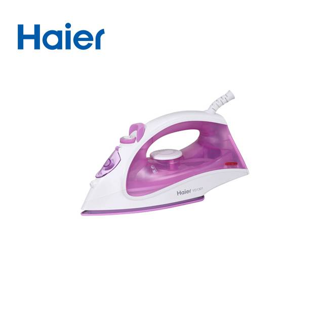 HAIER Household 1300W Six-Speed Mechanical Thermostat Wired Steam Iron (Model: YD1301 )