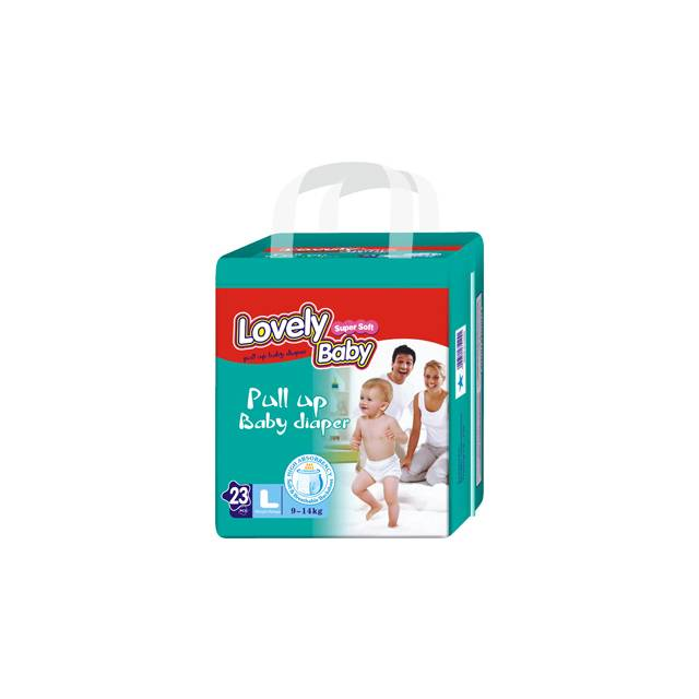 Lovely Baby Pull Up Baby Diaper (L-23pcs) (9-14Kg)