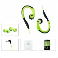 Pisen Sportwear Earhook Sweatproof in-ear Earphone (R-100)