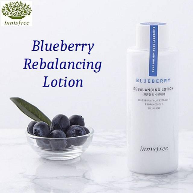 Innisfree Blueberry Rebalancing Lotion (130ml) (IFS-04L)