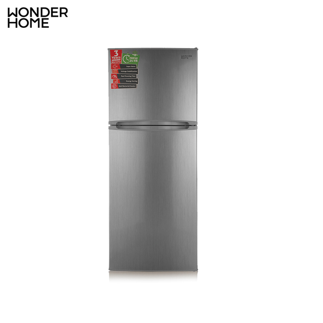 WONDER HOME Two Door Defrost Refrigerator 210L (MODEL:WHF-DF-210L) (FOC - Safe Guard)