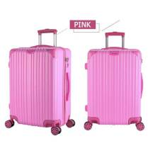 "20"" Inch MirrorTexture Silent Double Rows Universal Wheel Passowrd Lock Luggage Trolley (Model: TSC999)"