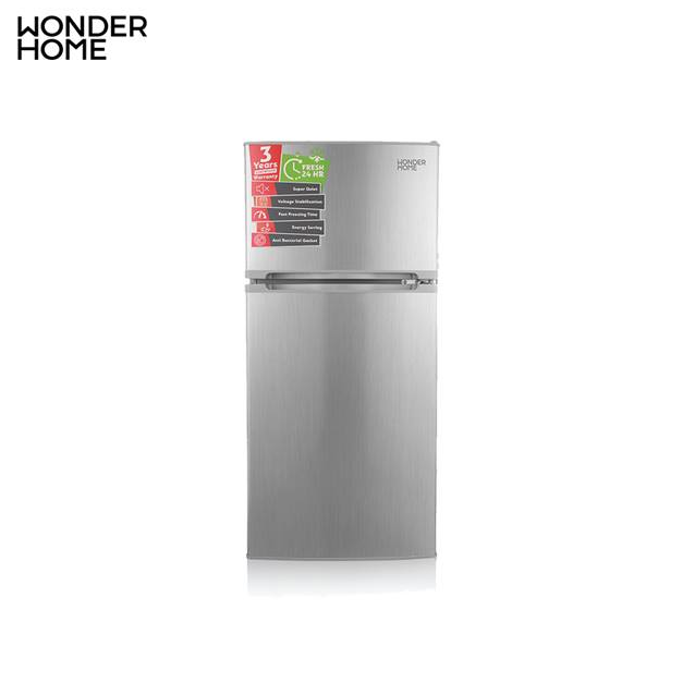 WONDER HOME Two Door No Frost Refrigerator 282L (MODEL: WHF-NF-282L) and Wonder Home Safeguard (Gift)
