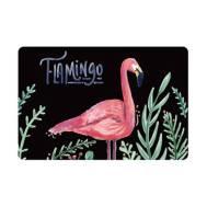 Dear Flamingo Anti-Slip 40 x 60 cm Floor Carpet Mat (2 Pc Set)(Model:BC009)