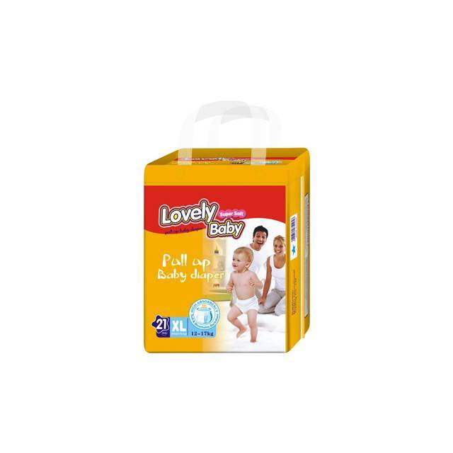 Lovely Baby Pull Up Baby Diaper (XL-21pcs) (12-17Kg)
