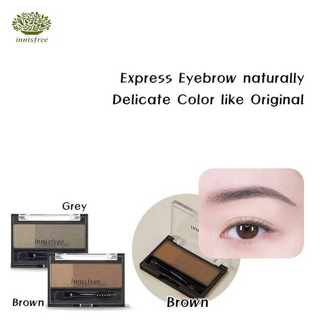 Innisfree Two Tone Eyebrow Kit (3.5g) (IFE-01#BR)