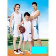 Sports Men,Women & Kids Basketball Jersey Training 2 Piece Set Suit Shirt Short (Model: 1662A)