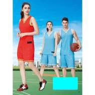 Unisex & Kid's Sport Basketball Jersey Training 2 Piece Set Shirt Short Suit (Model: 1651A)