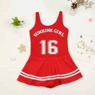 Wow Sports Kids Swimwear Stretch-Fit One-Piece Swimsuit (Model: NT121011)