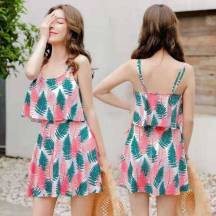 Women's Swimwear One-Piece All Over Print Swimming Dress  (Model: 039106)