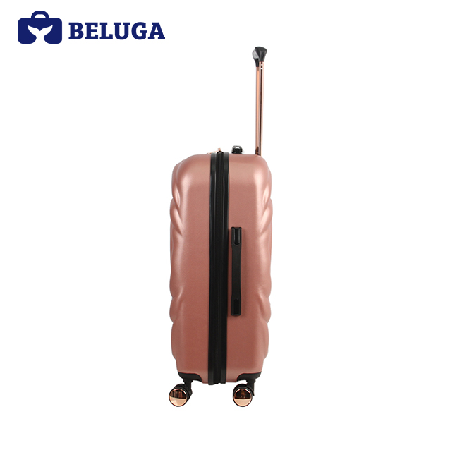 BELUGA Rose Lady Collection 24 Inches Travel Luggage Suitcase Rose Gold (Model:BE-ROSE-24)