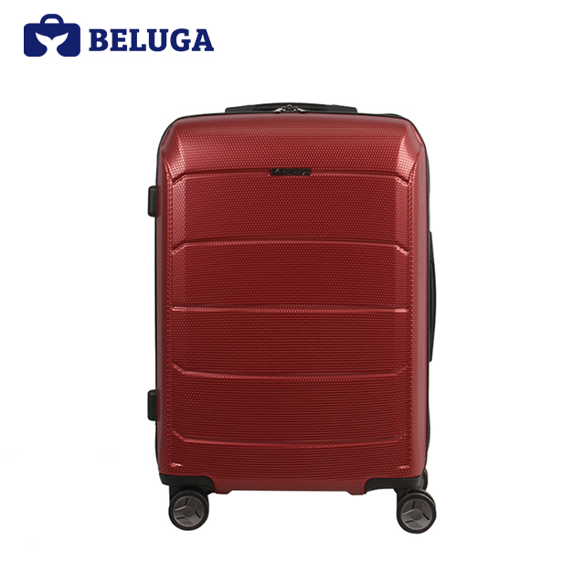 BELUGA Savvy Collection 24 Inches Travel Luggage Suitcase Red Wine (Model:BE-SAVY-24)