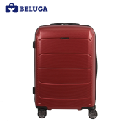 BELUGA Savvy Collection 24 Inches Travel Luggage Suitcase Red Wine (Model:BE-SAVY-24R)