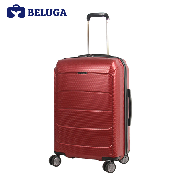 BELUGA Savvy Collection 20 Inches Travel Luggage Suitcase Red Wine (Model:BE-SAVY-20)