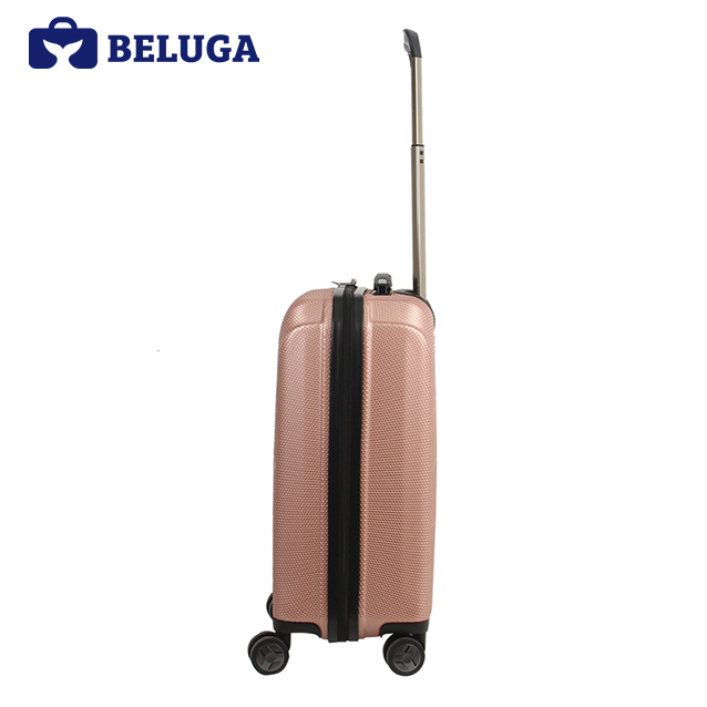 BELUGA Savvy Collection 20 Inches Travel Luggage Suitcase Rose Gold (Model:BE-SAVY-20)