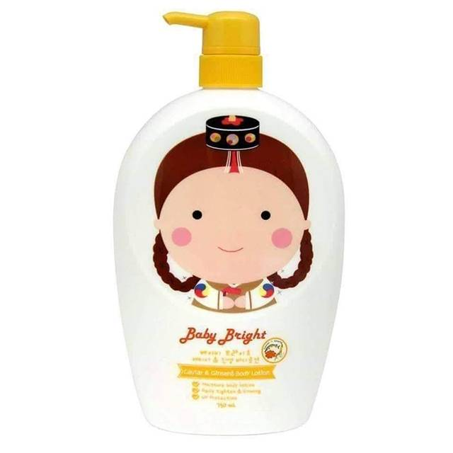 Baby Bright Body Lotion #Caviar & Ginseng