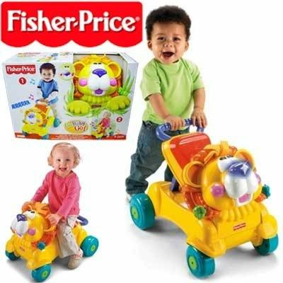 Fisher Price Stride-To-Ride Lion (Model: L4511)