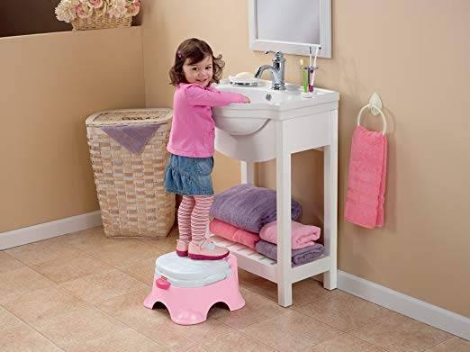 Fisher Price® Royal Princess™ Baby's Stepstool Potty (Model: W4106)