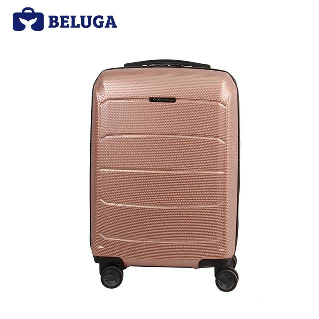 BELUGA Savvy Collection 24 Inches Travel Luggage Suitcase Rose Gold (Model:BE-SAVY-24) (FO19M)