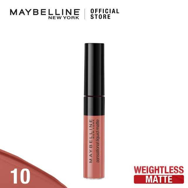 Maybelline Sensation Liquid Matte 10 Bday Suit On (G3738800)