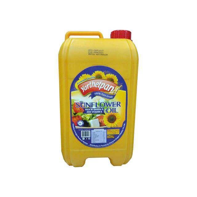 Yarthetpan Sunflower Oil 5L( New Design)